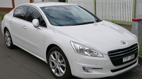 Peugeot 508 given to house of rep members.