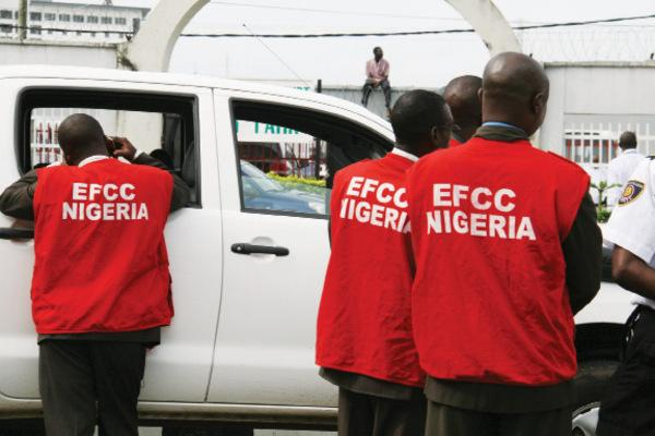 EFCC nigeria at work